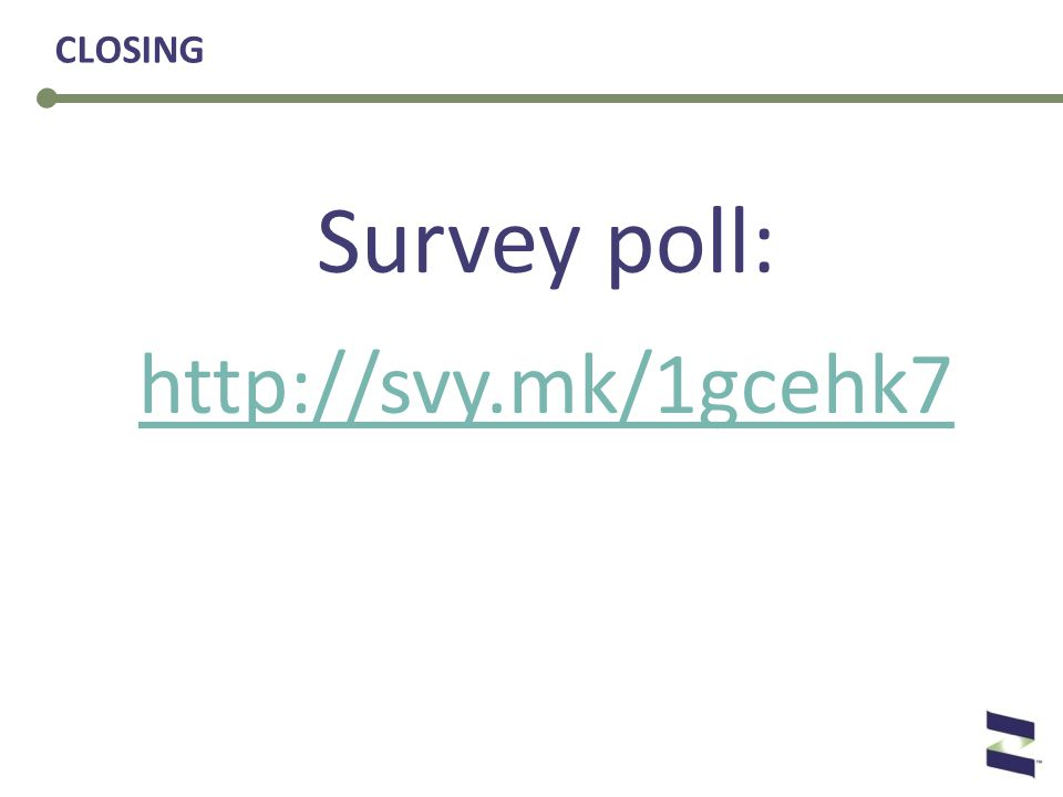 Survey poll: http://svy.mk/1gcehk7 CLOSING
