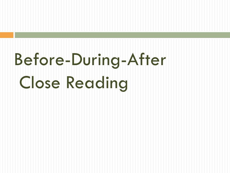 Before Reading Concerns  Pre-reading takes too much time away from reading.