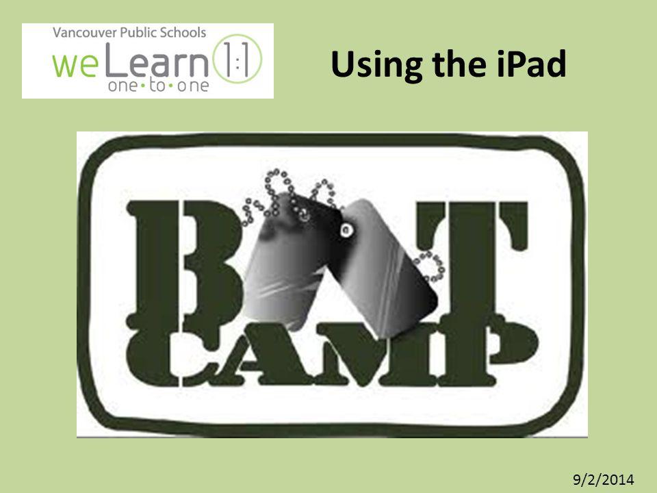 1.Revisit your iPad BINGO Self-Assessment.