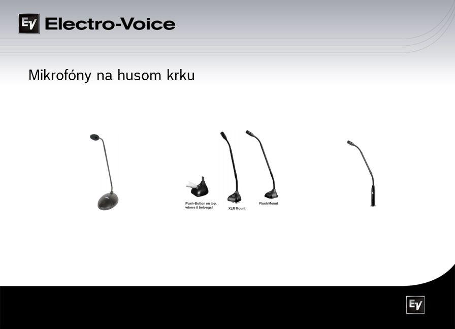Mikrofóny na husom krku