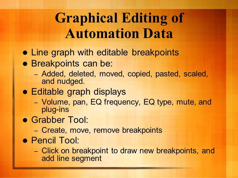 Rules for Cut, Copy, & Paste Automation data is pasted to the corresponding graph it came from.