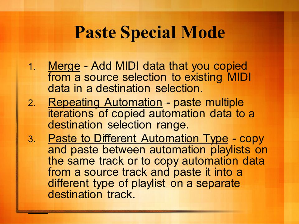 Paste Special Mode 1.