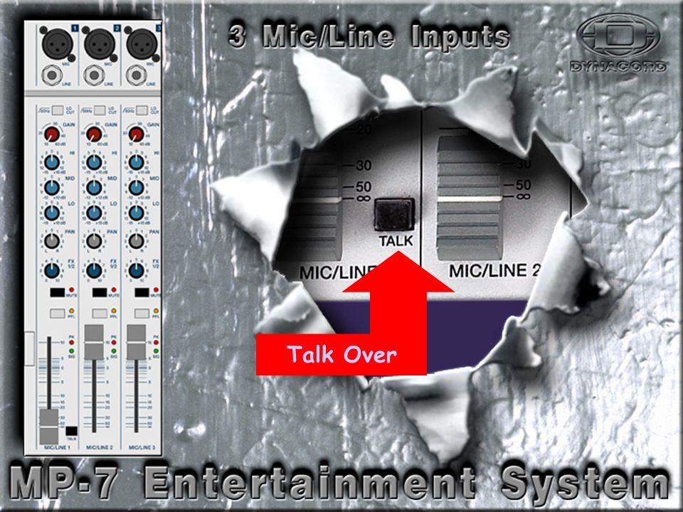 Mic-Line-3 Talk Over