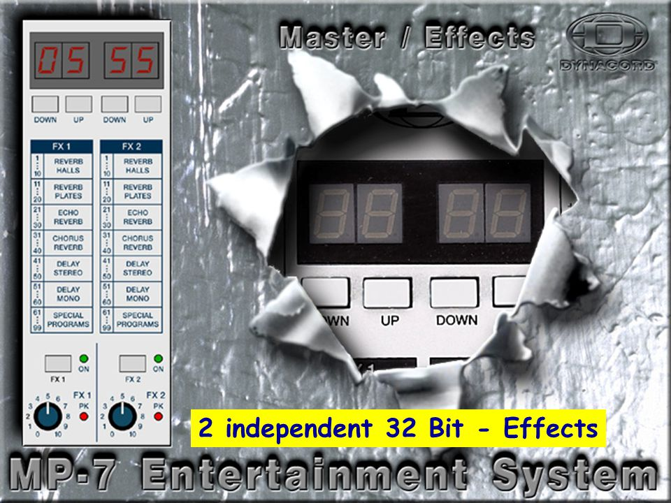 Effects-1 2 independent 32 Bit - Effects
