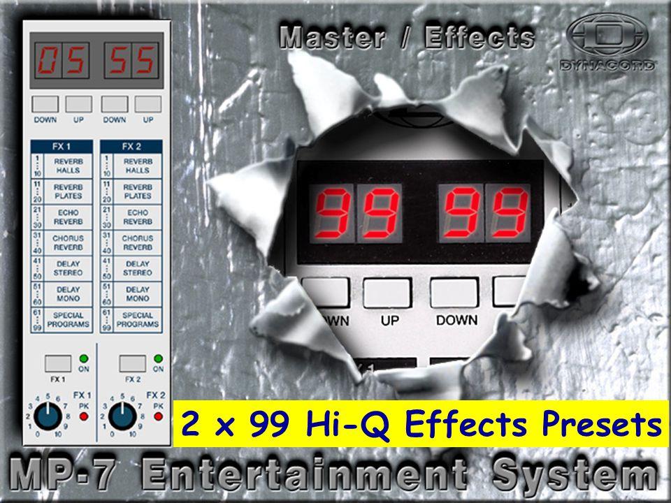 Effects-2 2 x 99 Hi-Q Effects Presets