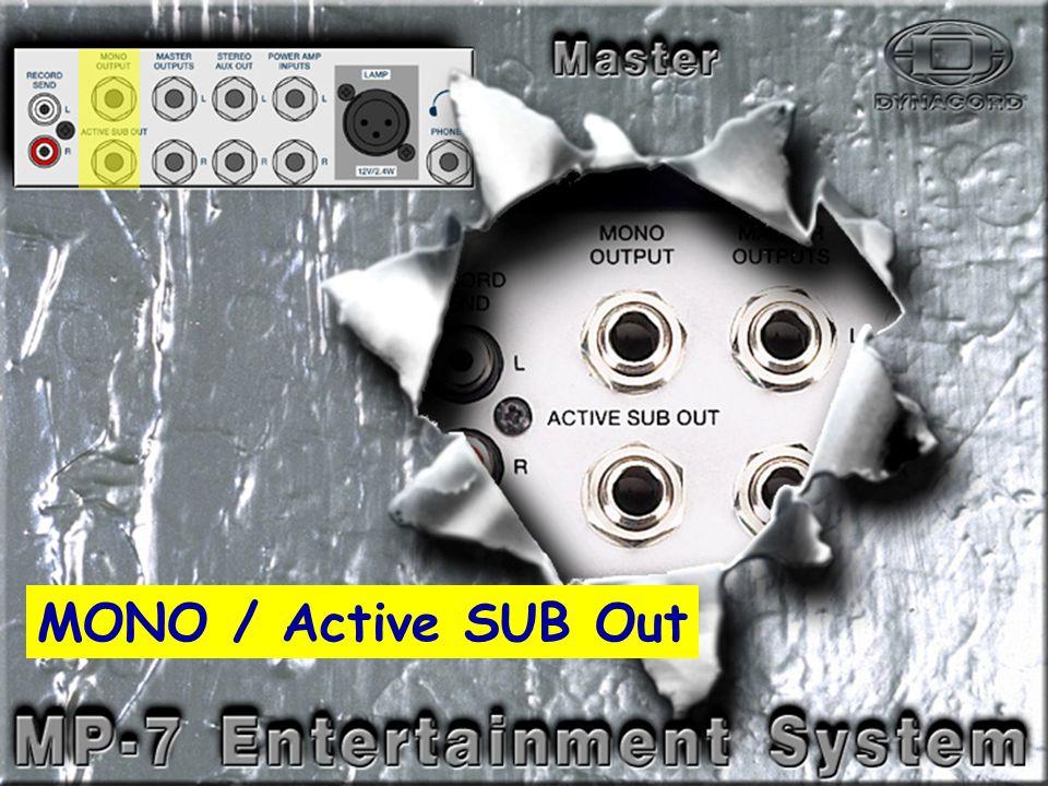 Break-4 MONO / Active SUB Out