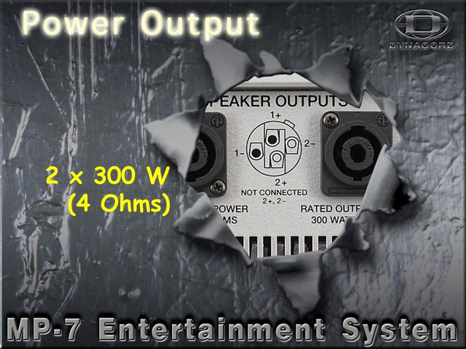 PowerOut-1 2 x 300 W (4 Ohms)