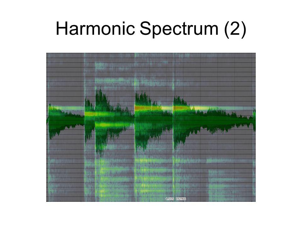 Harmonic Spectrum (2)