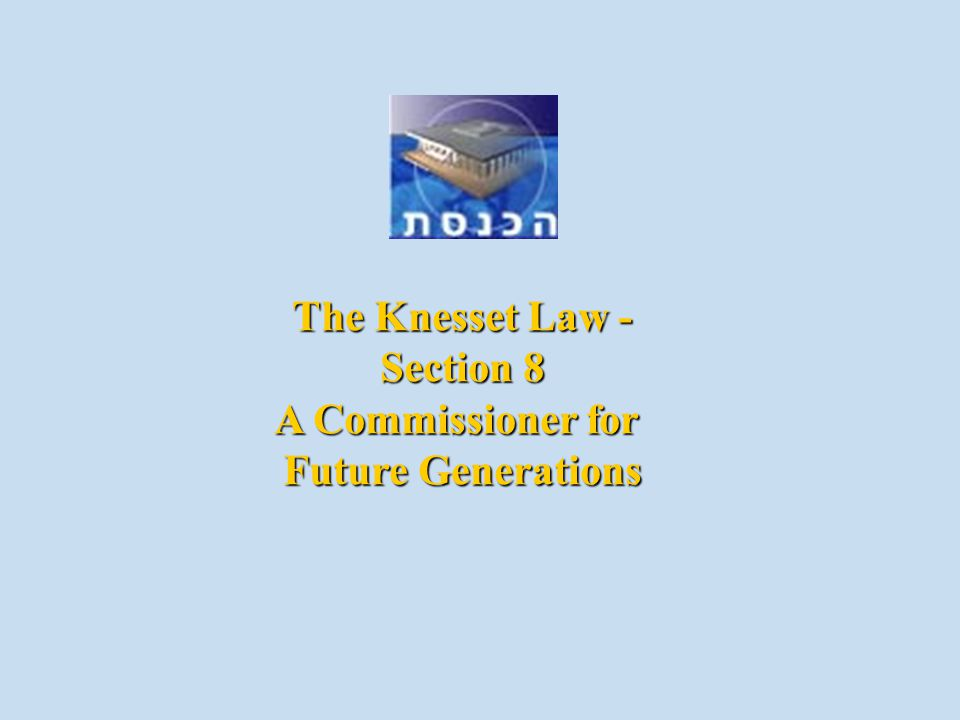 Created by a top-down process An establishment of the parliament Imposed on the legislation process Authority over almost every topic De-facto status