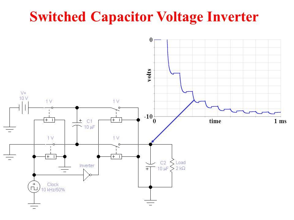 4-bit D/A Converter V out R R 2R 4R 8R Output states = 2 N = 2 4 = 16 N = 4 5 V 8 0 V -9.375 V