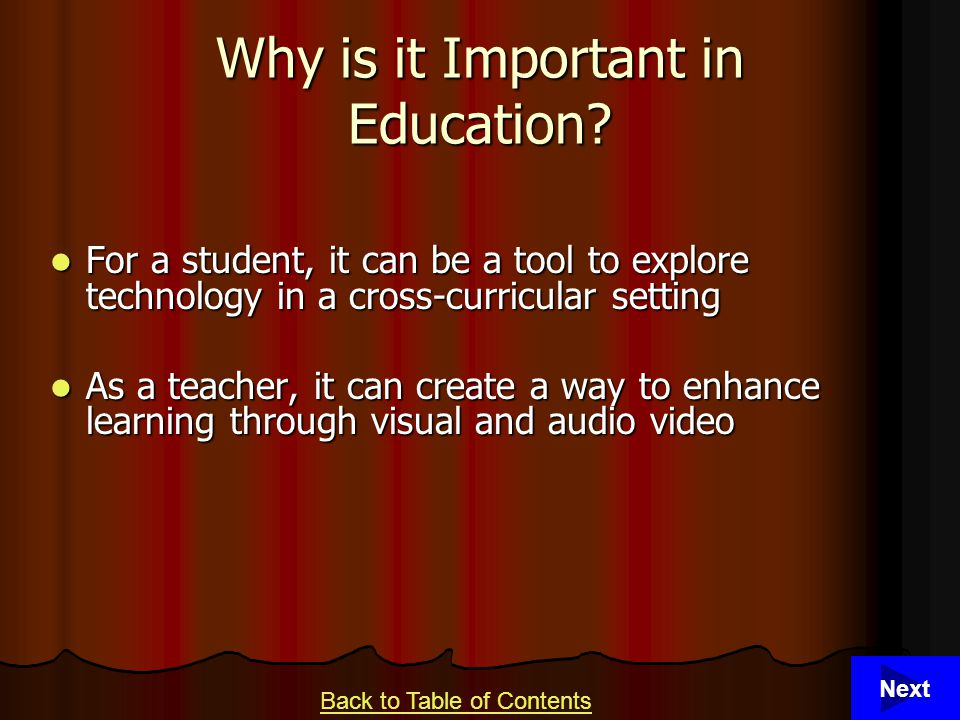4 Why is it Important in Education.