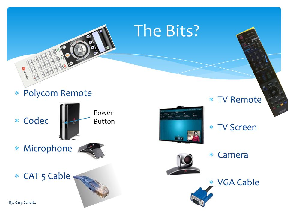  Polycom Remote  Codec  Microphone  CAT 5 Cable The Bits.