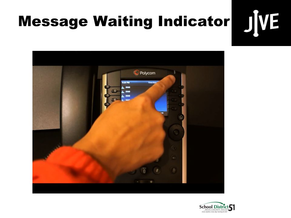 Message Waiting Indicator 400