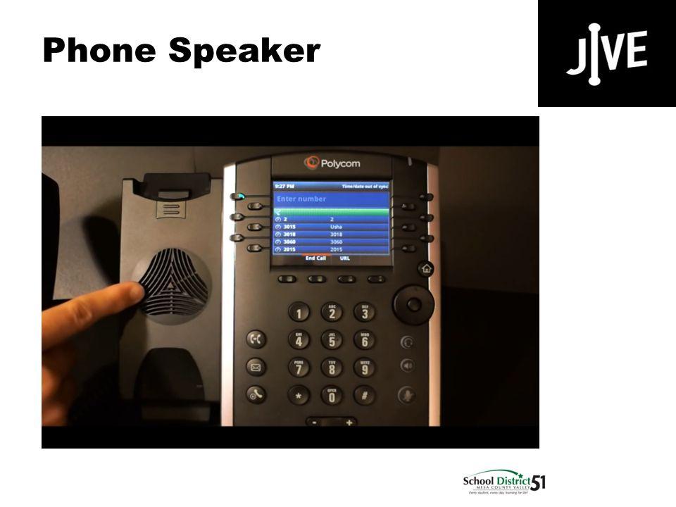 Phone Speaker Polycom VVX 400