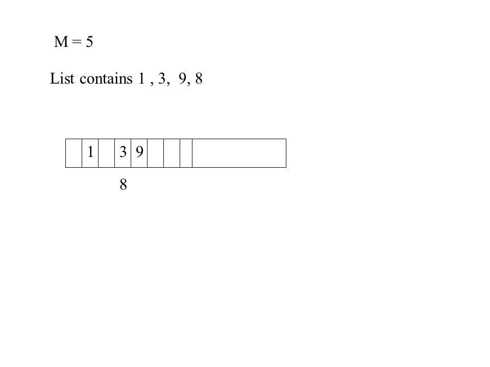 Quadratic Probing Alternative to linear probing.To insert key k, try slot h(k).