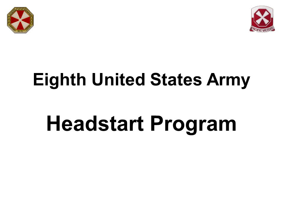 Eighth United States Army Headstart Program
