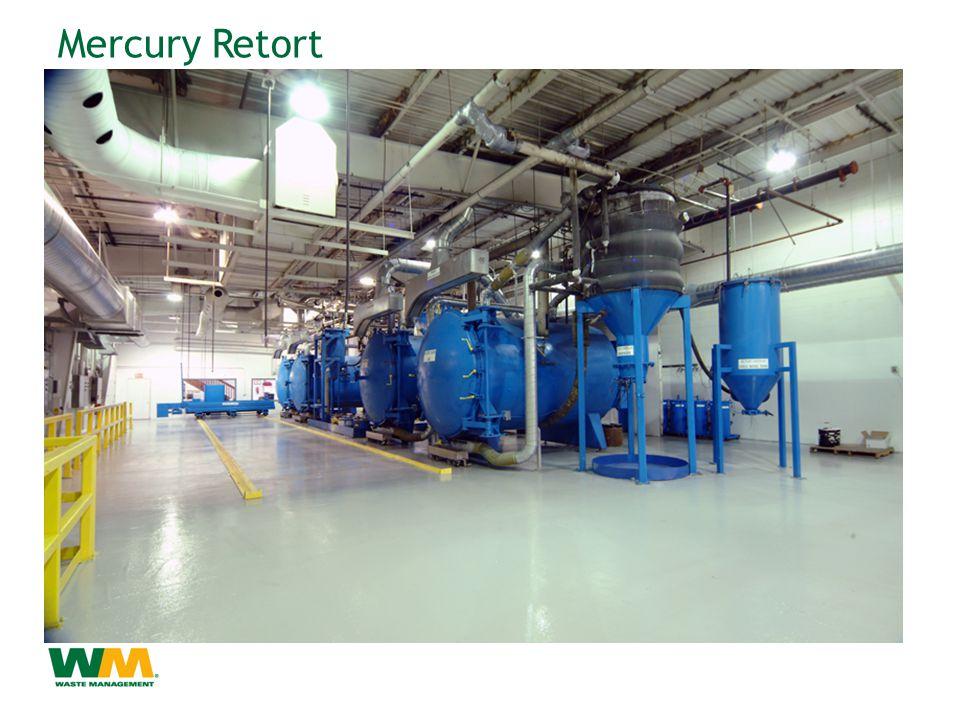 Mercury Retort