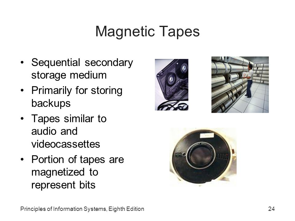 Magnetic Disks Principles of Information Systems, Eighth Edition25 Direct access storage medium e.g.