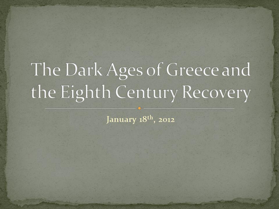 January 18 th, 2012
