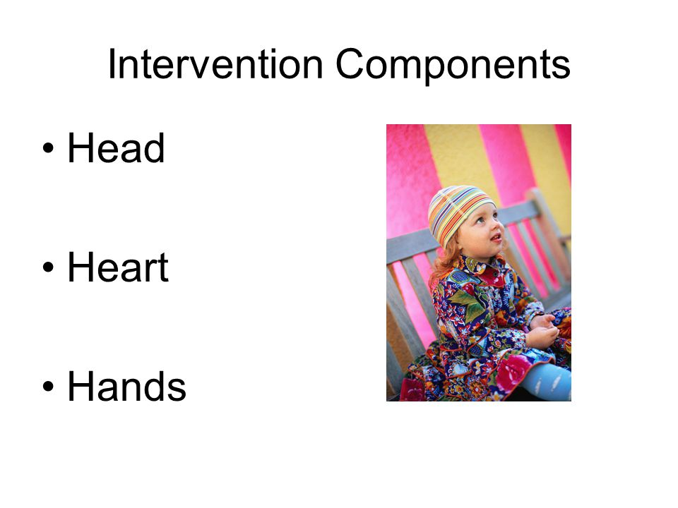 Intervention Components Head Heart Hands