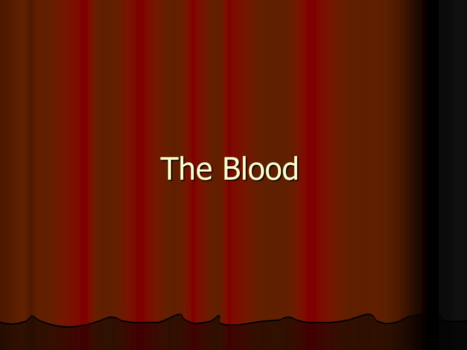 Definition Definition Blood is a connective tissue, not a body fluid, made of fluid (plasma) and cellular elements (RBC, WBC, and platelets) Its volume is 5-6 L in males and 4-5 L in females Its volume is 5-6 L in males and 4-5 L in females It is slightly alkaline, with a pH of ~ 7.4 It is slightly alkaline, with a pH of ~ 7.4 Its color varies from bright to dark red Its color varies from bright to dark red It has a salty metallic taste It has a salty metallic taste