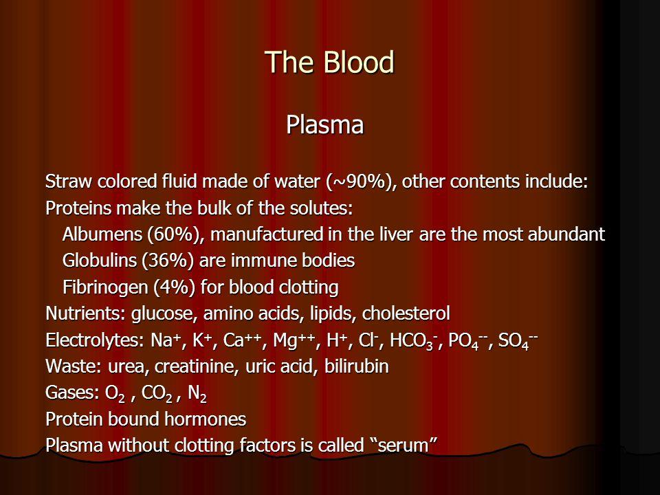 The Blood RBC RBC Disorders of RBCs Anemia is reduced RBC count Anemia is reduced RBC count Anemias can be caused by Anemias can be caused by RBC loss or reduced production RBC loss or reduced production Hemorrhage, hemolysis, depressed bone marrow Hemorrhage, hemolysis, depressed bone marrow Reduced hemoglobin content of RBCs Reduced hemoglobin content of RBCs Iron, intrinsic factor, folic acid, or B 12 deficiency Iron, intrinsic factor, folic acid, or B 12 deficiency Congenital hemoglobin defects Congenital hemoglobin defects Thalassemia, sickle cell anemia, spherocytosis Thalassemia, sickle cell anemia, spherocytosis