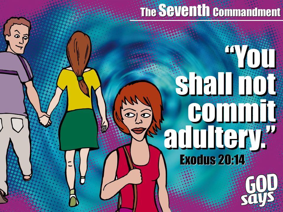 The Seventh Commandment You shall not commit adultery. Exodus 20:14