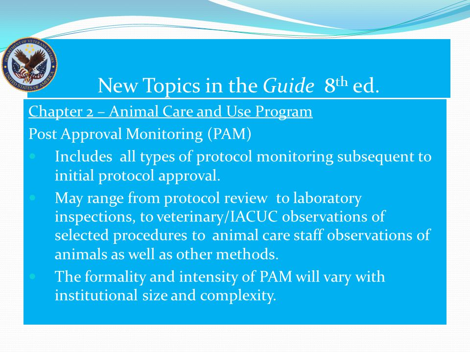 Expanded Topics in the 8 th ed.