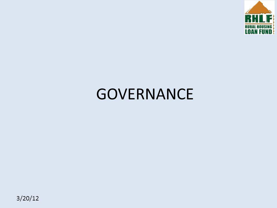 3/20/12 GOVERNANCE