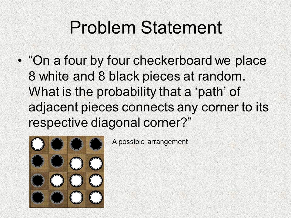 Counting Corners (via Pascal's Triangle) Two kinds of corners: 1 1 1 1 1 2 3 4 1 3 6 10 1 4 20 3 * 1 = 3 3 1 3 + 3 = 6 corners