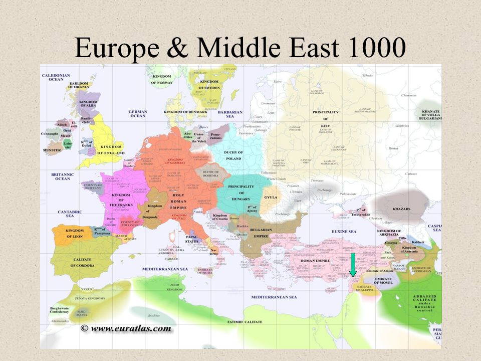 Europe & Middle East 1000