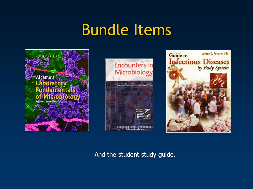 Bundle Items And the student study guide.