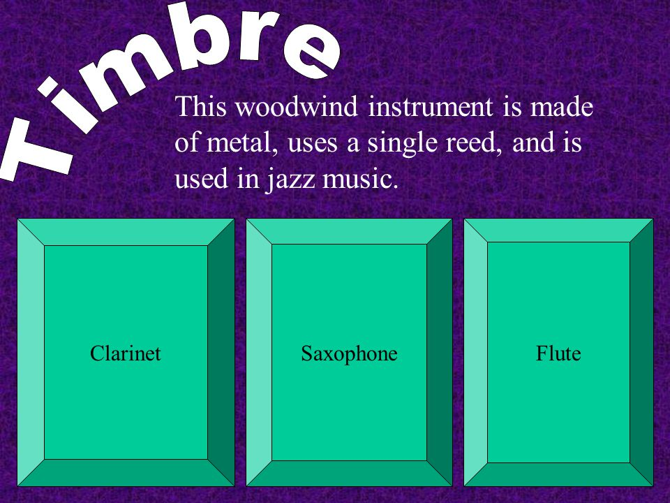 Which of the following is a non- pitched percussion instrument? TimpaniTemple BlocksXylophone