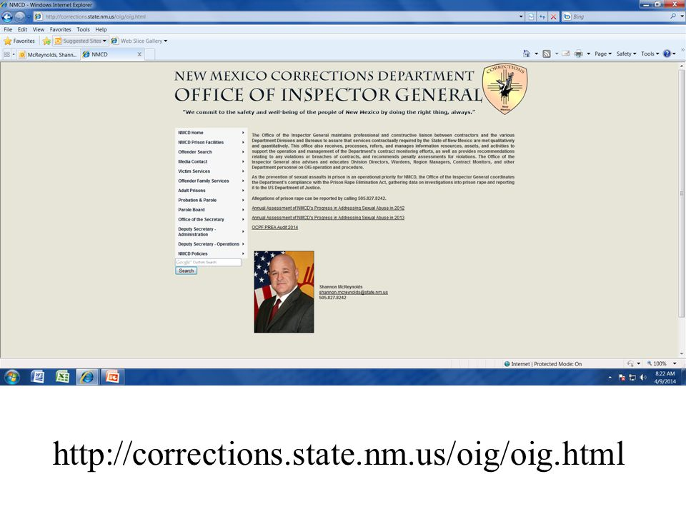 http://corrections.state.nm.us/oig/oig.html