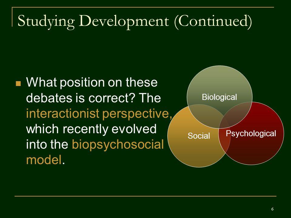 Cognitive Development Jean Piaget believed infants begin at a cognitively primitive level and progress in distinct stages.