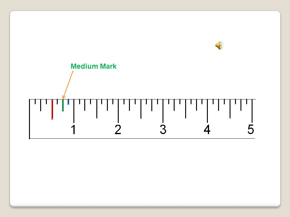 Inch Mark