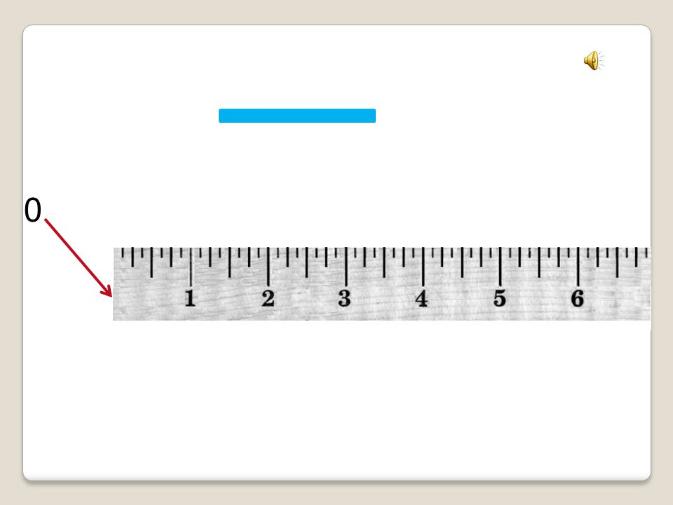 Tall Mark = Half Inch Mark 2 1