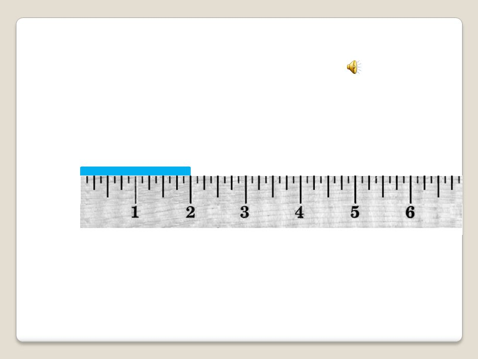 Measuring an object that ends on a Tall Half Inch Mark