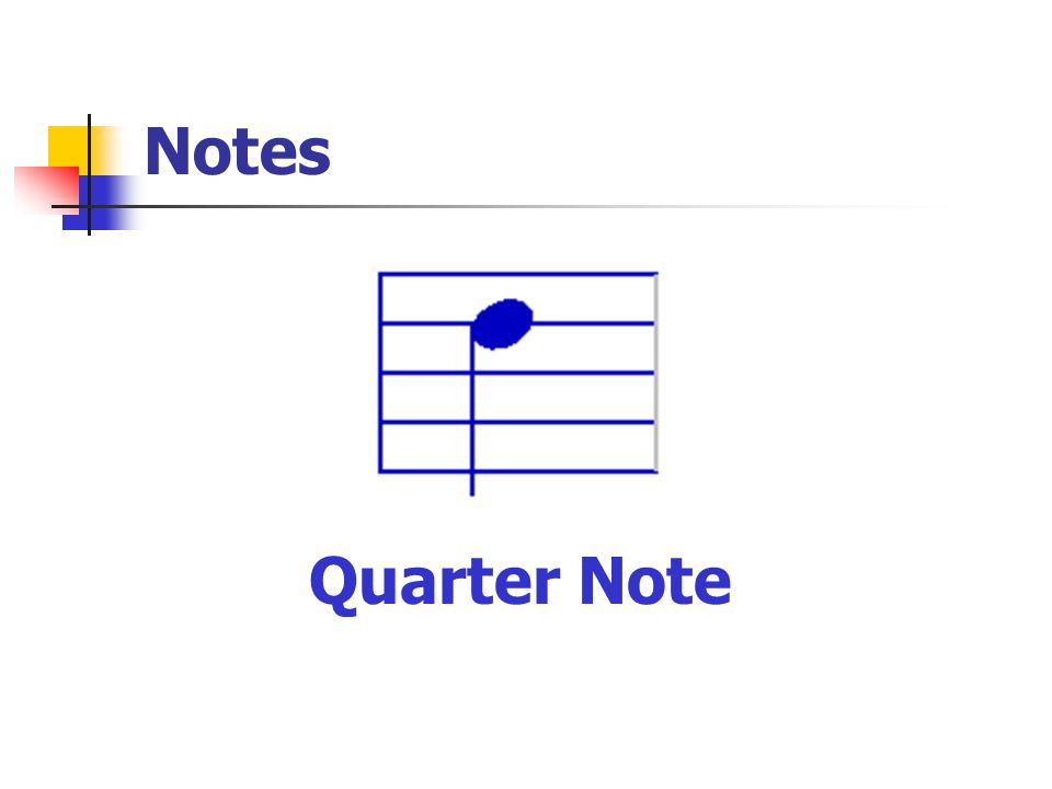 Notes Quarter Note