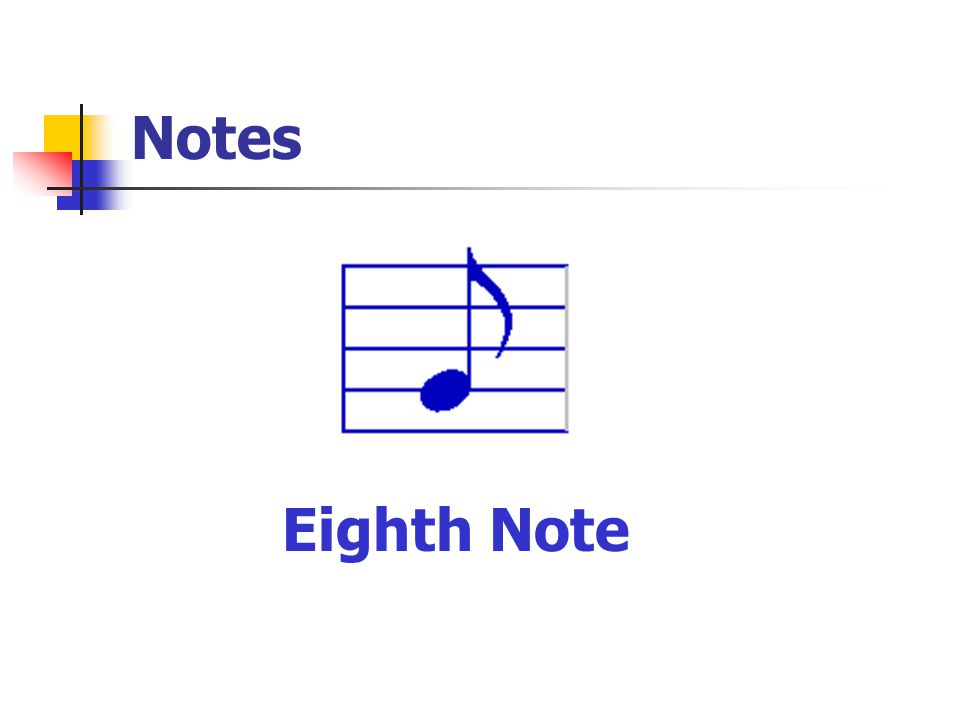 Notes Eighth Note