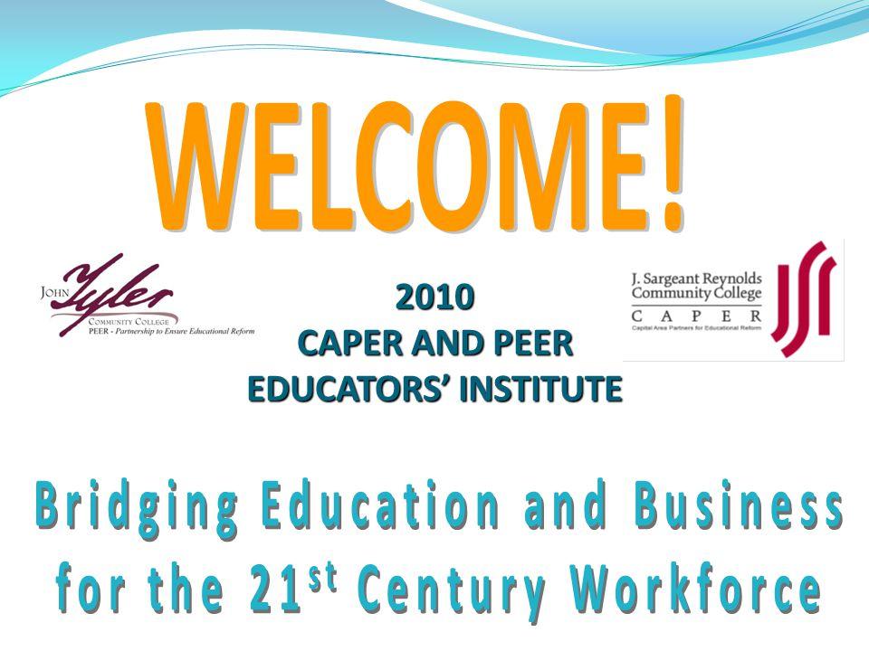 2010 CAPER AND PEER EDUCATORS' INSTITUTE