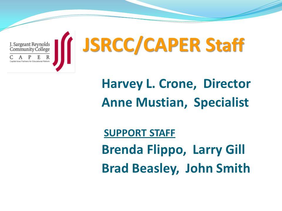 JSRCC/CAPER S taff Harvey L.