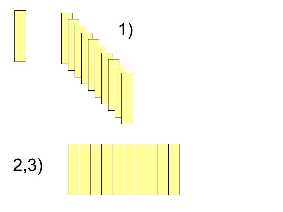 1) 2,3)