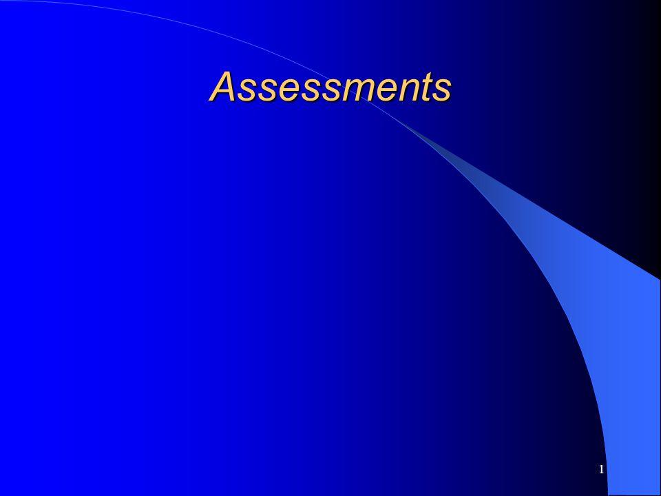 1 Assessments