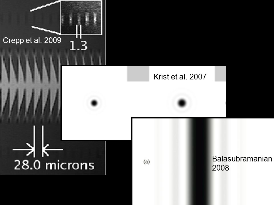 Crepp et al. 2009 Balasubramanian 2008 Notch Filter (And Band-Limited) Krist et al. 2009