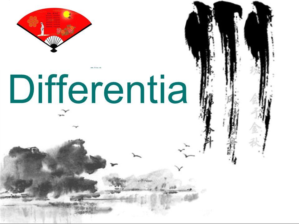 Differentia