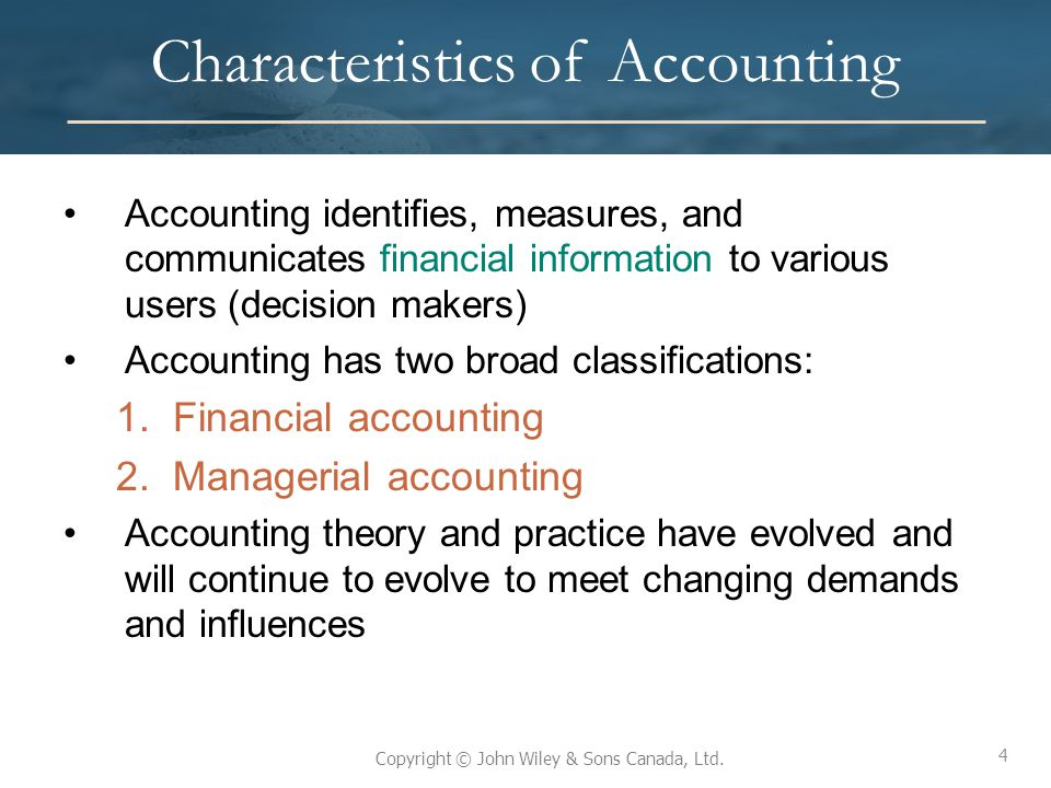 25 The Standard Setting Process in Canada – Parties Involved International Accounting Standards Board (IASB) –Major international standard setting body –Mission to develop, in the public interest, a single set of high quality, understandable and international reporting standards (IFRSs) for general purpose financial statements –IFRS must be used by public companies in Canada –Private enterprises have an option of using IFRS