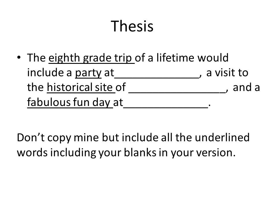 I have trouble writing an attention grabber and thesis can someone help me?
