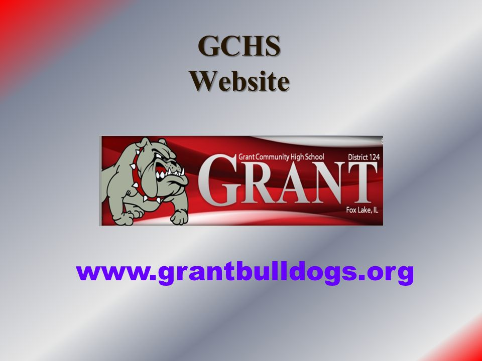 GCHS Website www.grantbulldogs.org