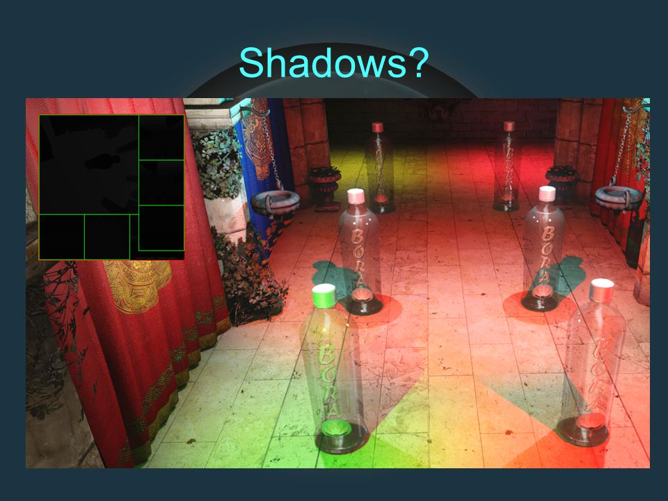 Shadows?